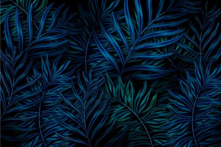 realistic-dark-tropical-leaves-backgroun