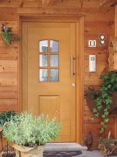 Portoncino d'ingresso in legno