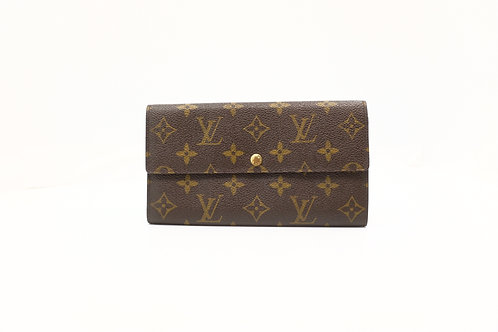 Louis Vuitton  Sarah Long Wallet in Monogram Canvas