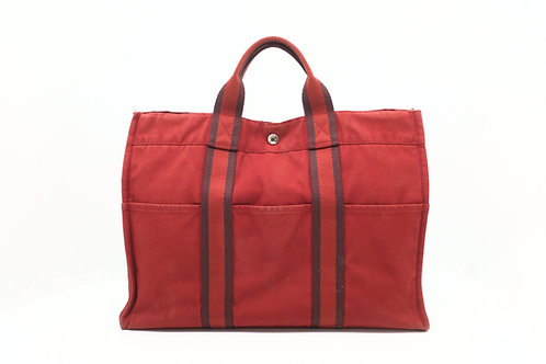 Hermes Forre-Tout Tote bag MM in Red