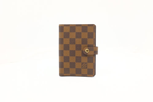 Louis Vuitton Agenda PM in Damier Ebene Canvas