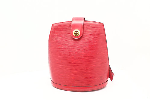 Louis Vuitton Cluny in Red Epi Leather