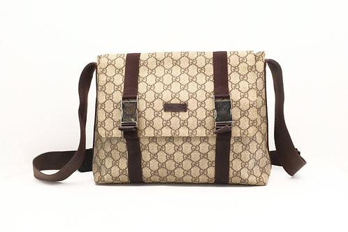 Gucci Crossbody in GG Supreme Diamante Canvas