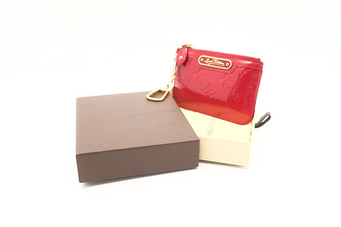 Louis Vuitton Cles NM in Red Vernis Leather