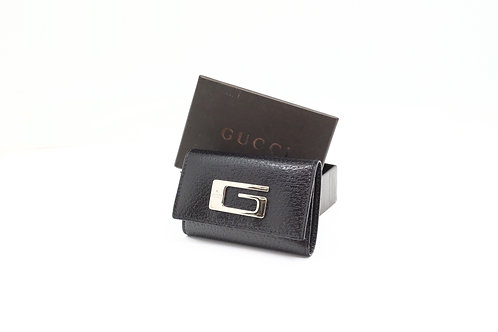 Gucci Key Case in Black Leather