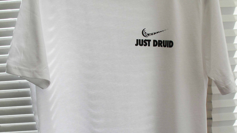 Just Druid Tee (White)