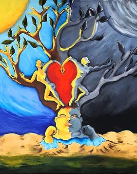 Naître dans l'Amour entre l'ombre et la