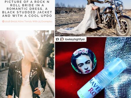 "Maverick's Rose: ""It's a bride wearing a leather jacket on a shiny chrome motorbike"""