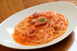 カルボナーラチリトマト