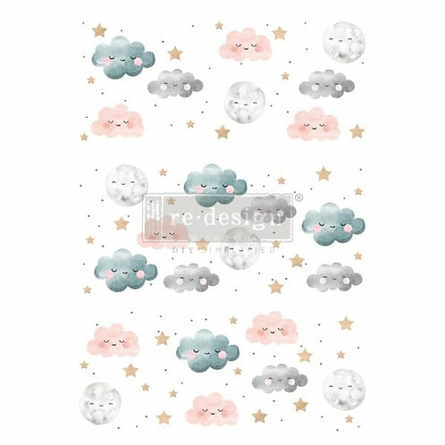Sweet Lullaby – Redesign with Prima Rub-On Transfer (24″ x 35″ total image)