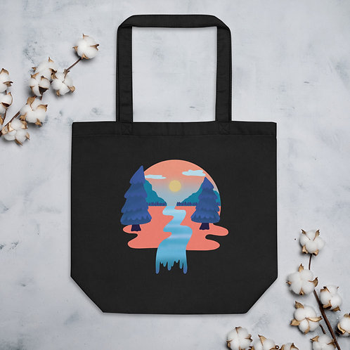 Tangerine Forest Eco Tote Bag