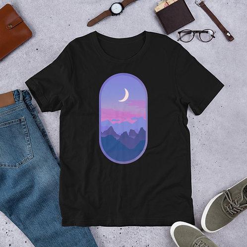 Cotton Candy Moon Short-Sleeve Unisex T-Shirt