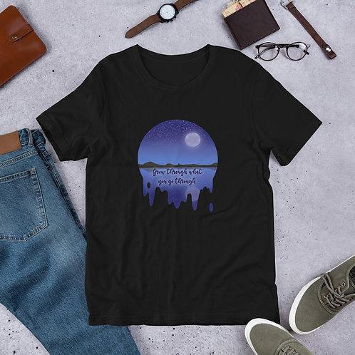 Grow through what you go through Short-Sleeve Unisex T-Shirt