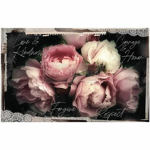 Zara – Decoupage Decor Tissue Paper – (19″ x 30″ total size)