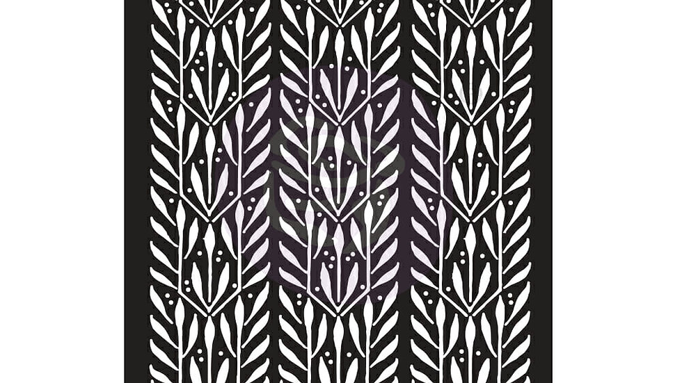 6×9 STENCIL – LAURELS – 6″ X 9″