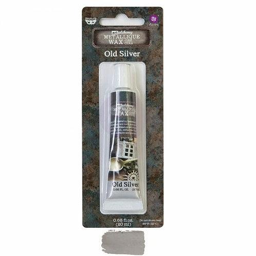 Old Silver – Art Alchemy Metallique Wax – 0.68 oz (20 mL)