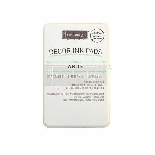 White Ink Pad – Clearly Aligned Stamps (magnetic ink pad)