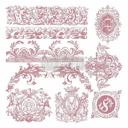 Chateau De Saverne – Clearly Aligned Stamps (12″ x 12″ clear cling, 7 pcs)