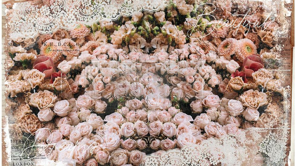 Beautiful Dream – Decoupage Decor Tissue Paper – (19″ x 30″ total size)
