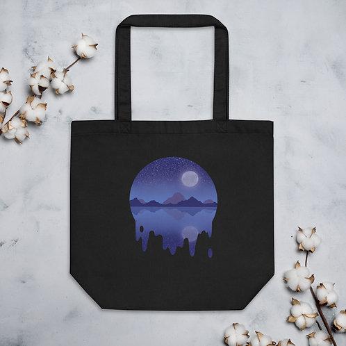 Blue Moon Mountain Eco Tote Bag