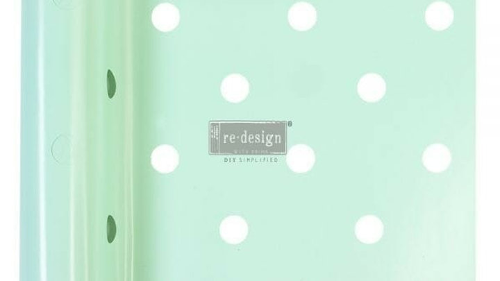 Mini Dot – Stick & Style Stencil – 7 inch x 3 yards (6″ design)