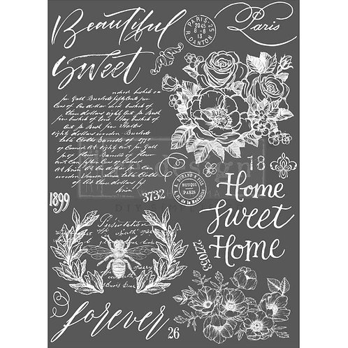 "Redesign Decor Transfer - Beautiful Home 26"" x 36"""