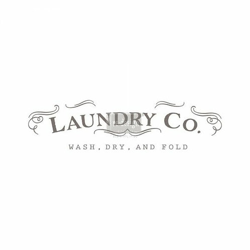 Laundry – Redesign with Prima Rub-On Transfer (7″ x 29″ total image size)