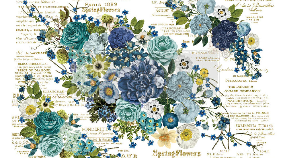 Cosmic Roses – Redesign with Prima Rub-On Transfer (44″x30″ total size)