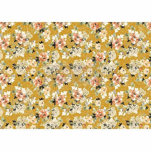 Fleurette Dress – Decor Rice Paper – (11.5″ x 16.25″ total size)