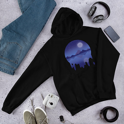 Blue Moon Mountain Unisex Hoodie