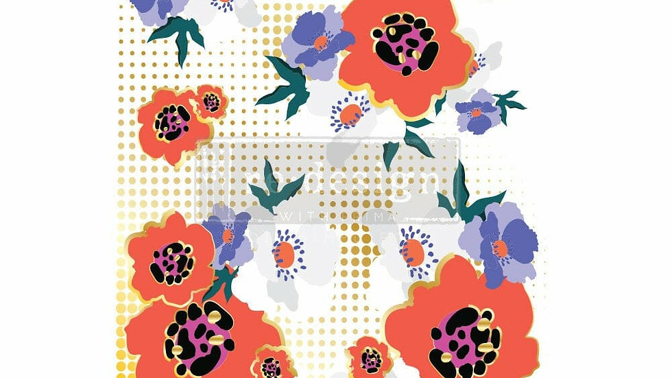 CECE Modernist Floral Transfer by Redesign with Prima