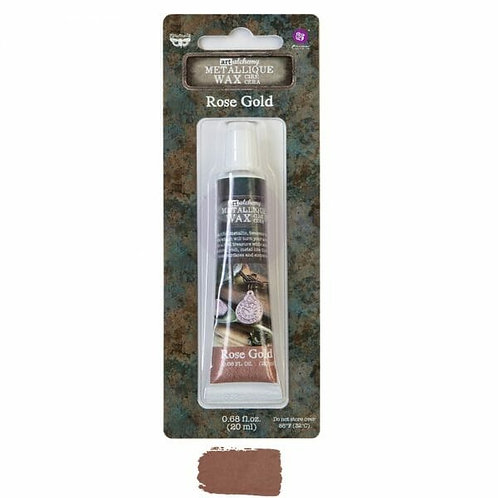 Rose Gold – Art Alchemy Metallique Wax – 0.68 oz (20 mL)