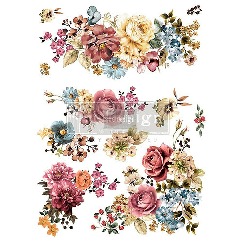 Ruby Rose – Redesign with Prima Rub-On Transfer (22″ x 30″ total size)