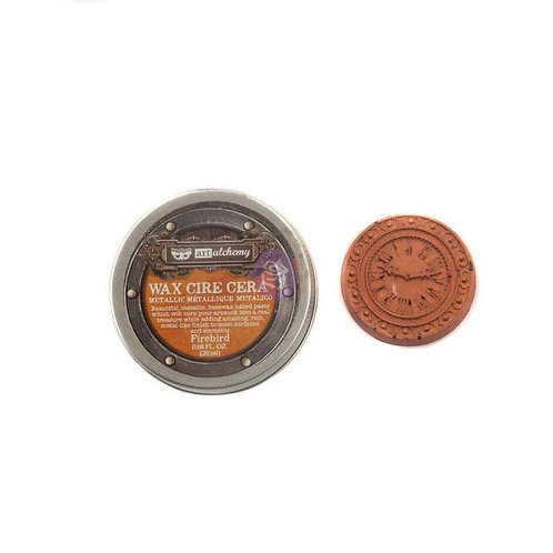 Art Alchemy- Metallic Wax- Firebird .68 oz. (20ml)
