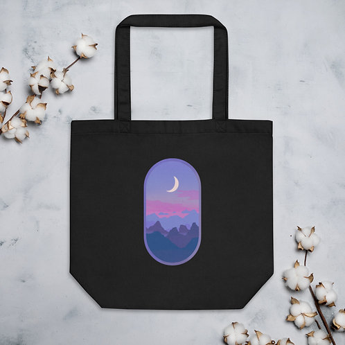 Cotton Candy Moon Eco Tote Bag
