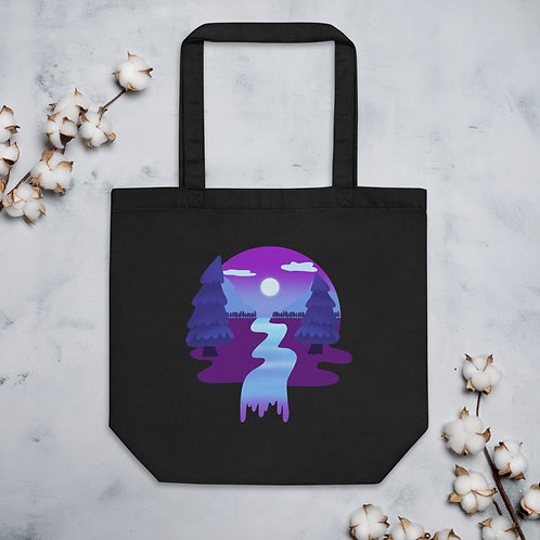 Plum Forest Eco Tote Bag