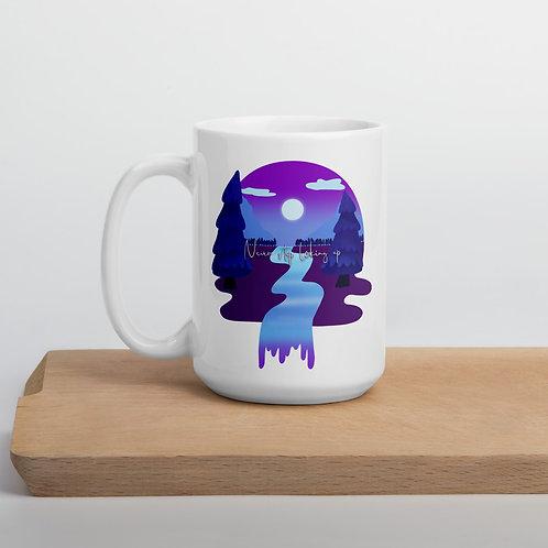 Never stop looking up Mug