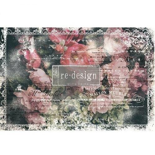 Celeste – Decoupage Decor Tissue Paper – (19″ x 30″ total size)