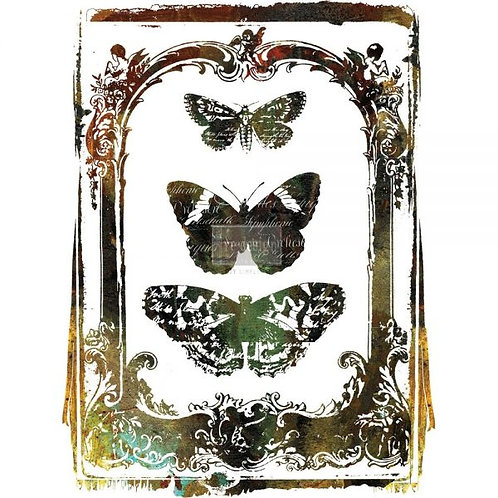 """Redesign Decor Transfer - Butterfly Frame 24"""" x 34"""""""