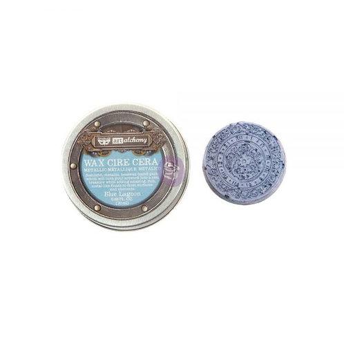 Art Alchemy- Metallic Wax- Blue Lagoon .68 oz. (20ml)