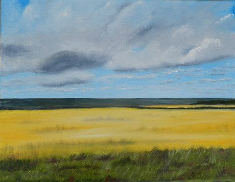Serenity (original oil painting 11x14)