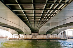 Under the Alma Bridge