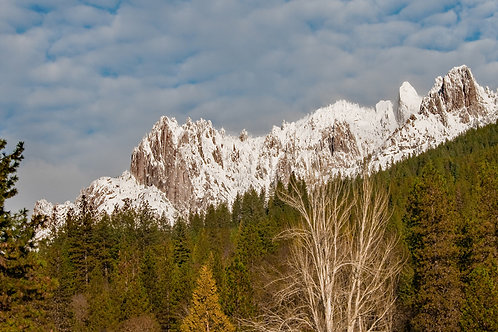 A Wintry Profile of Castle Crags