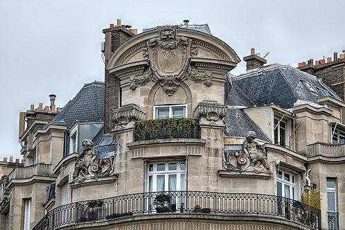 Ornate Parisian Apartment