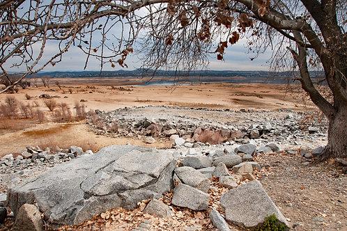 Drought at Folsom Lake