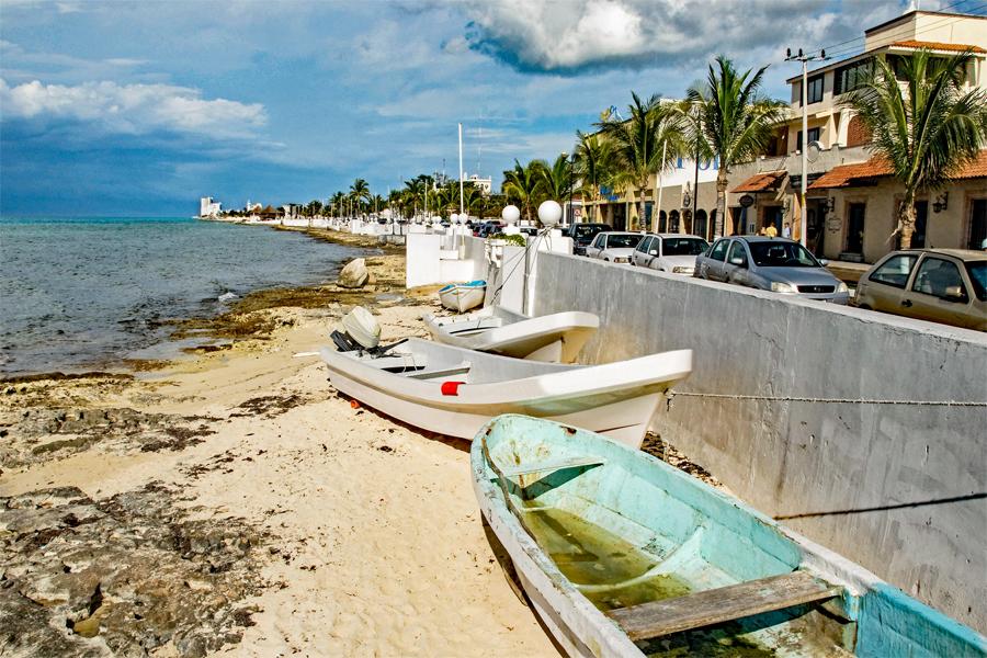 Cozumel Boardwalk
