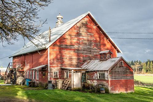 Butteville Road Barn
