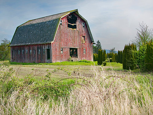 Mt Vernon Barn-I