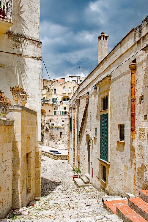 Matera Alleyway