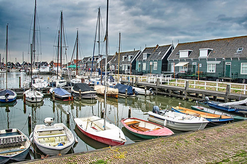 Marken Harbor
